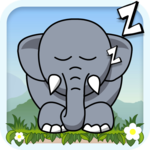 Snoring - best elephant puzzle on cool math games APK icon