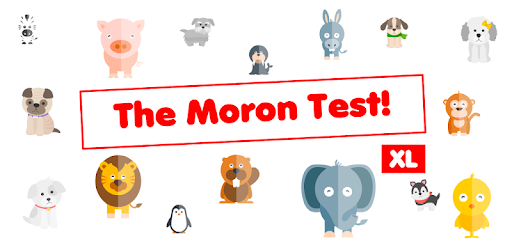 The Moron Test XL - idiot test for when you bored pc screenshot