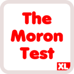 The Moron Test XL - idiot test for when you bored icon