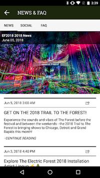 Electric Forest Festival APK screenshot 1