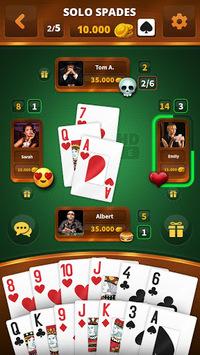 Spades -Batak HD Online APK screenshot 1