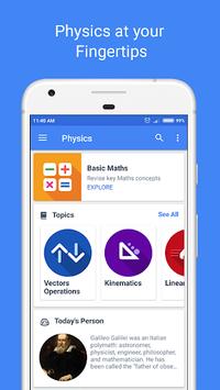 Physics Pro 2018 - Notes, Dictionary & Calculator APK screenshot 1
