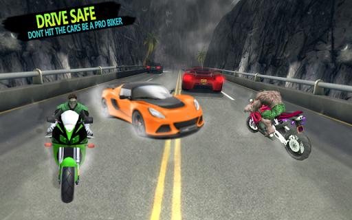 Superhero Stunts Bike Racing Games APK screenshot 1