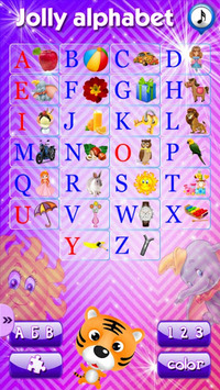 Alphabet, numerals and colors APK screenshot 1
