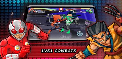 Superheroes Fighting Games Shadow Battle pc screenshot