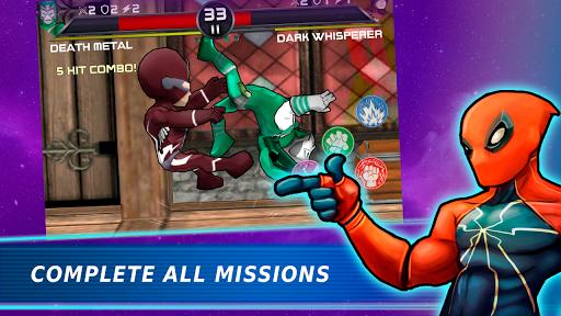 Superheroes Vs Villains 3 - Free Fighting Game APK screenshot 1