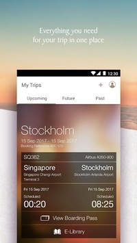 Singapore Airlines APK screenshot 1