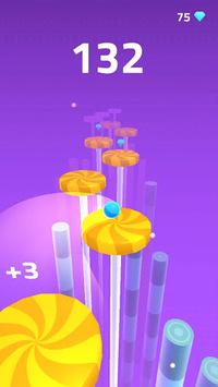 Splashy Tiles: Bouncing To The Fruit Tiles APK screenshot 1