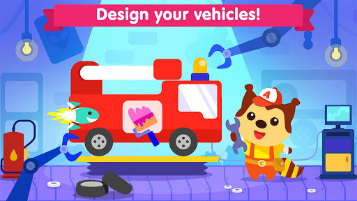 Car game for toddlers - kids racing cars games APK screenshot 1