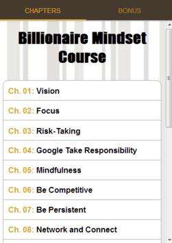 Billionaire Mindset Course APK screenshot 1