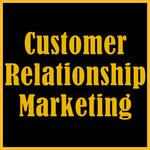 Customer Relationship Marketing icon