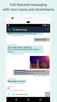 Amazon Chime APK screenshot 1