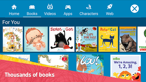 Amazon FreeTime – Kids' Videos, Books, & TV shows APK screenshot 1