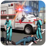 Ambulance Rescue Driving APK icon