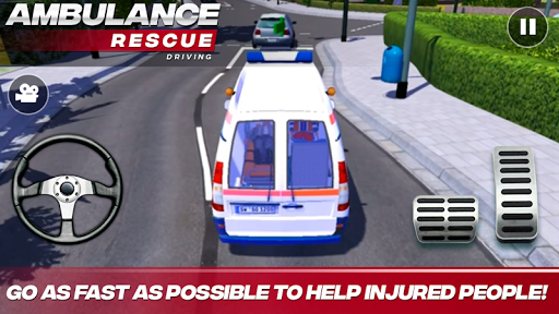 Ambulance Rescue Driving APK screenshot 1