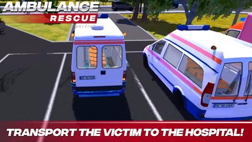 Ambulance Rescue Driving APK screenshot 1