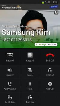 Samsung WE VoIP APK screenshot 1