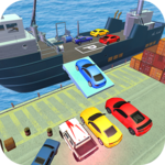 Car Transport Ship Simulator 3d icon