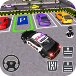 Police Car Parking City Highway icon
