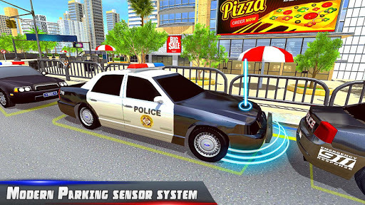 Police Car Parking City Highway APK screenshot 1