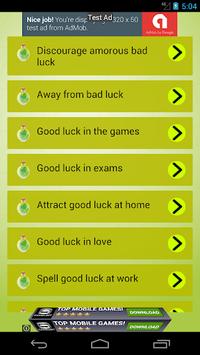 Good luck spells APK screenshot 1