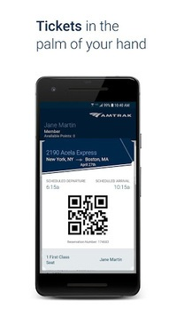 Amtrak APK screenshot 1