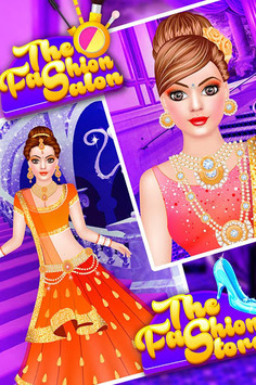 Royal Indian Doll Wedding Salon : Marriage Rituals APK screenshot 1
