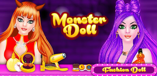 Monster Doll Fashion Salon Dress Up Game pc screenshot