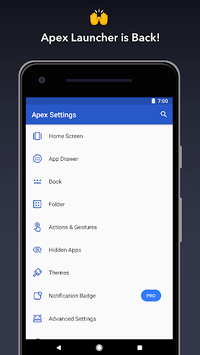 Apex Launcher - Customize,Secure,and Efficient APK screenshot 1