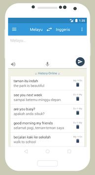 Kamus Inggeris - Melayu APK screenshot 1
