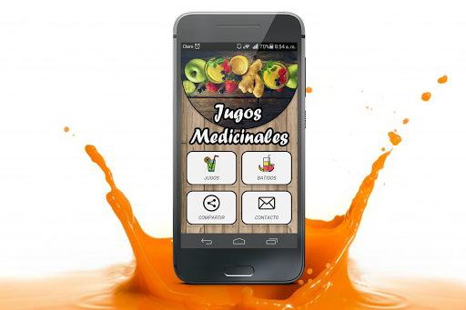 Smoothies and Healthy Juices APK screenshot 1