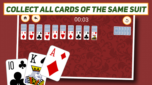 Spider Solitaire: Classic APK screenshot 1