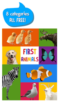 First Words for Baby: Animals APK screenshot 1