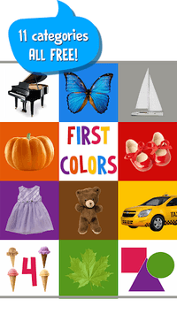 First Words for Baby: Colors APK screenshot 1