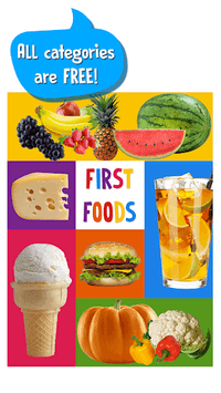 First Words for Baby: Foods APK screenshot 1