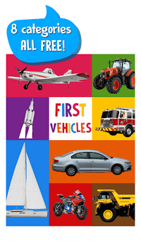 First Words for Baby: Vehicles APK screenshot 1