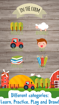 Kids Farm Game: Preschool APK screenshot 1