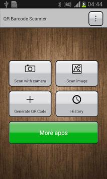 Barcode Scanner APK screenshot 1