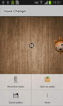 Voice Changer APK screenshot 1