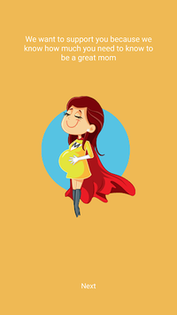 Baby Chat - Pregnancy Assistant APK screenshot 1