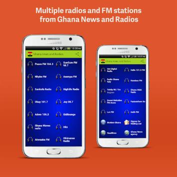 Ghana Radios APK screenshot 1