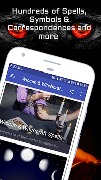 Wiccan and Witchcraft Spells APK screenshot 1