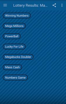 Lottery Results: Mass APK screenshot 1