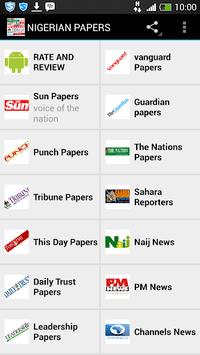 Nigerian Newspapers APK screenshot 1