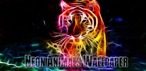 Neon Animals Wallpaper pc screenshot