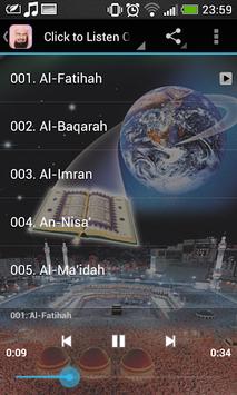 Sheikh Sudais Quran Full MP3 APK screenshot 1