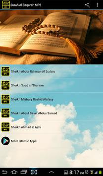Surah Al Baqarah MP3 APK screenshot 1