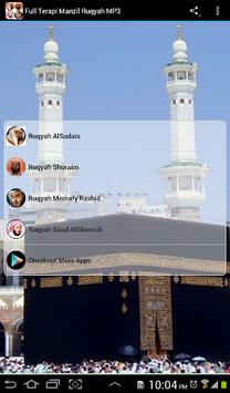 Full Terapi Manzil Ruqyah MP3 APK screenshot 1