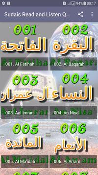 Sheikh Sudais Quran Read and Listen Offline APK screenshot 1