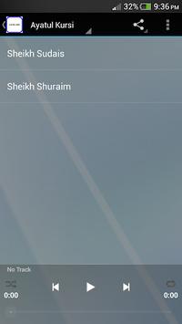 Ayatul Kursi and Fatiha MP3 APK screenshot 1